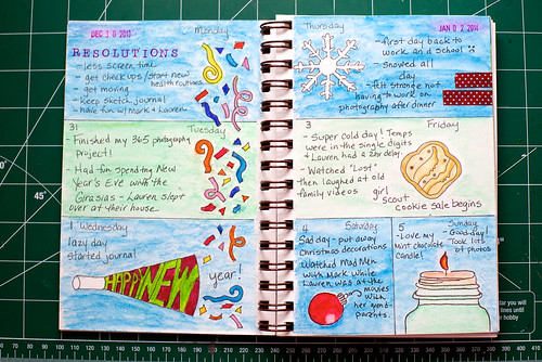 2014 Sketch Journal - Week 1