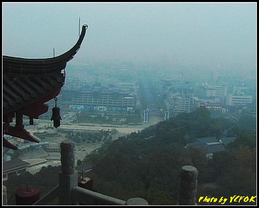杭州 吳山天風景區 - 029 (城隍閣 從城隍閣鳥瞰吳山天風廣場)