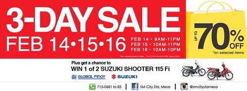 SM City Sta.Mesa 3-Day Sale