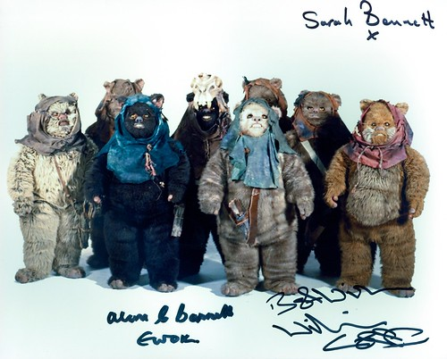 090-Willie Coppen-Sarah Bennett-Alan Bennett-Ewoks