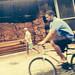 O homem da bicicleta. by Cícero R. C. Omena