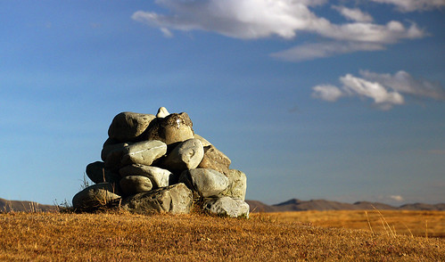 The Cairn. Tekapo golf course.