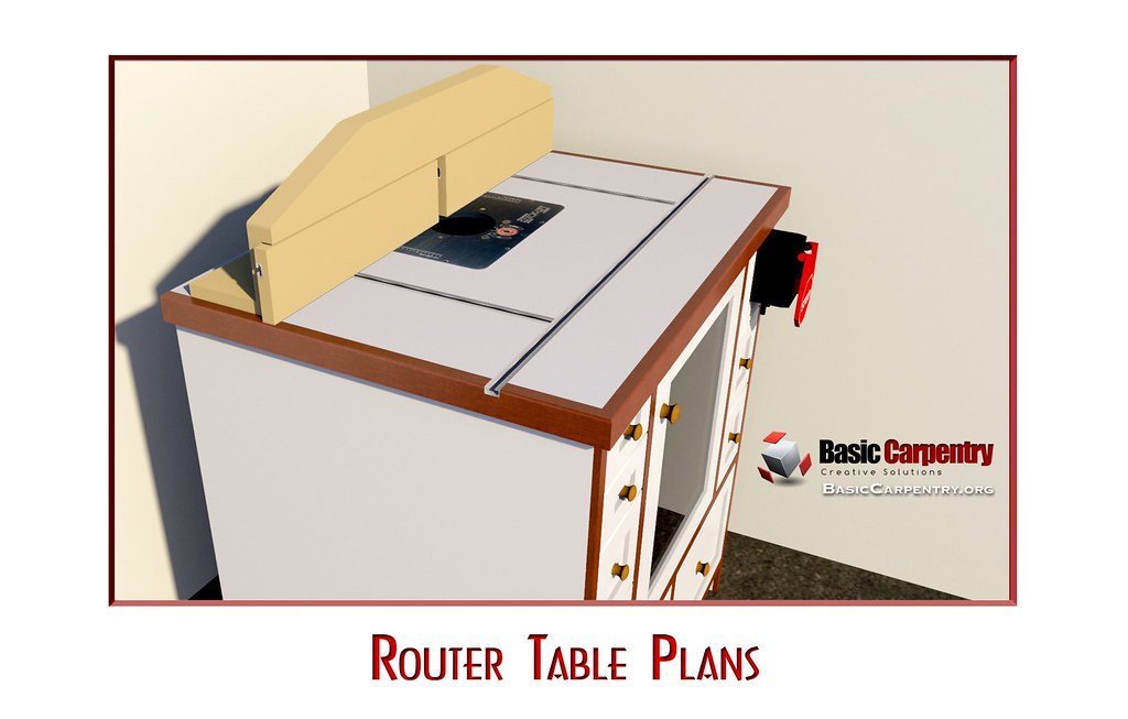 Custom Router Table Plans Free Download