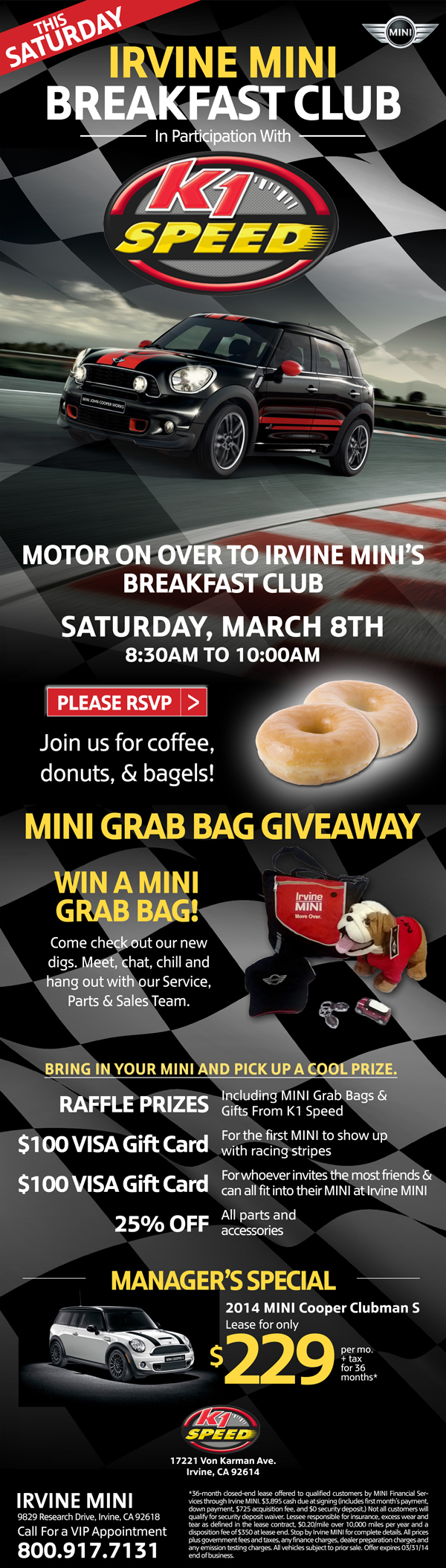 12826979875 86200f93af o Irvine MINI Breakfast Club this Saturday!