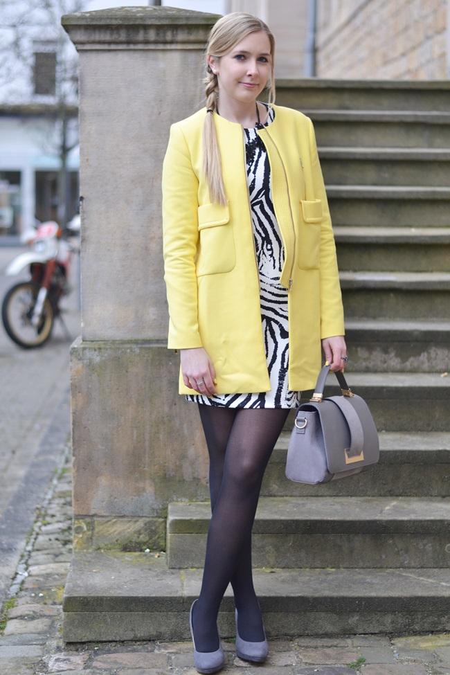 Aufs Zebra gekommen Kleid (2)