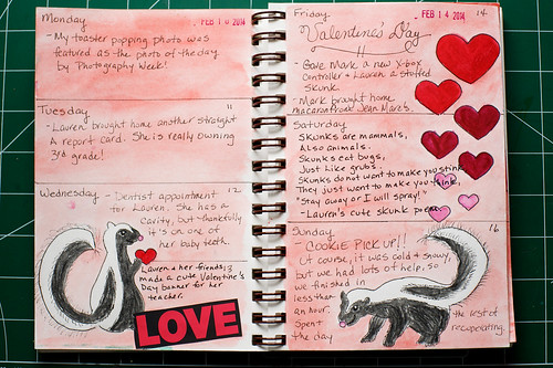 2014 Sketch Journal - Week 7