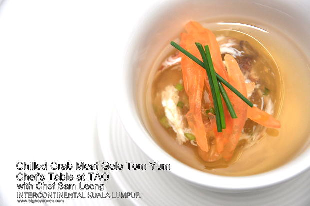 Chef's Table with Chef Sam Leong at TAO Intercontinental Kuala Lumpur 4