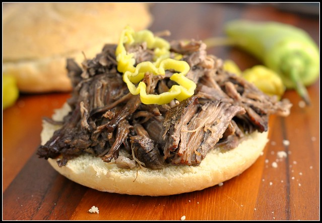 Crock Pot Tangy Italian Beef Sandwiches 4