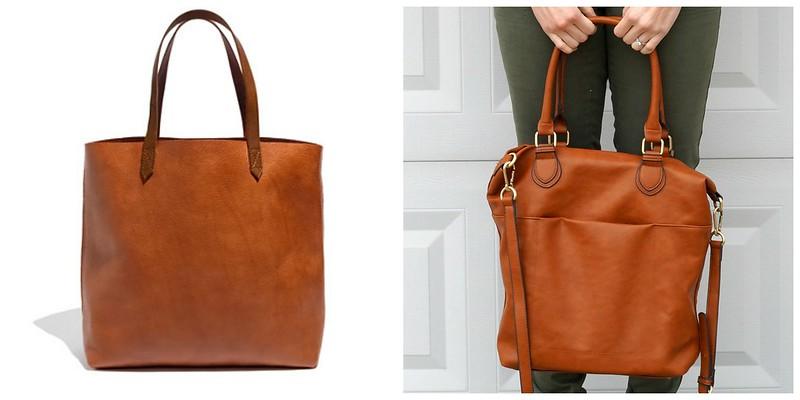 Madewell versus Target tote bag