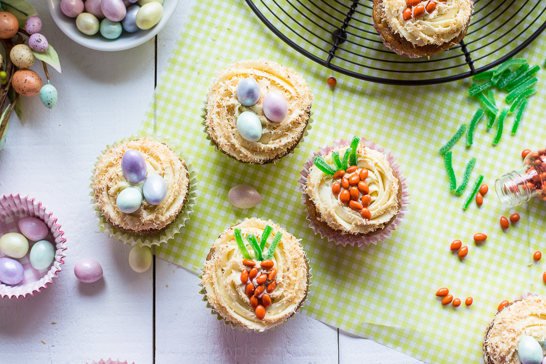 13296891184 28f417ab5f o Easter Carrot Cupcakes with Maple Cream Cheese Frosting
