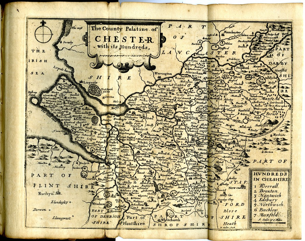 Maps Of England Circa 1670 Chester 7 Of 40 38 Old Maps Of Flickr