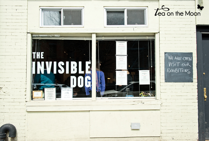 Oliver Jeffers The invisible dog Brooklyn