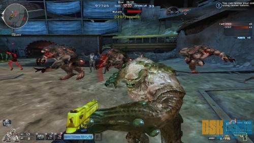 Crossfire modo Biohazard - Mutantes
