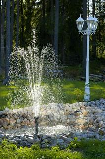 Suihkulähde Heinäkuu 2005
