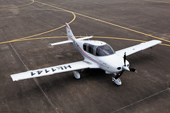 airplane(0.0), cessna 150(0.0), cessna 152(0.0), flight(0.0), model aircraft(1.0), aviation(1.0), propeller driven aircraft(1.0), wing(1.0), vehicle(1.0), cessna 182(1.0), propeller(1.0), cessna 172(1.0), tarmac(1.0), ultralight aviation(1.0), aircraft engine(1.0),