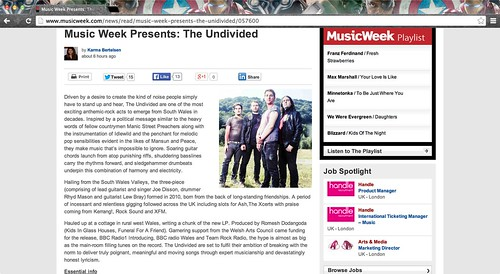 Music Week Presents: The Undivided