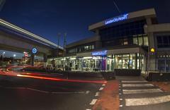 LCY Terminal at Night