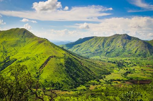 Vallée près de Chicuma