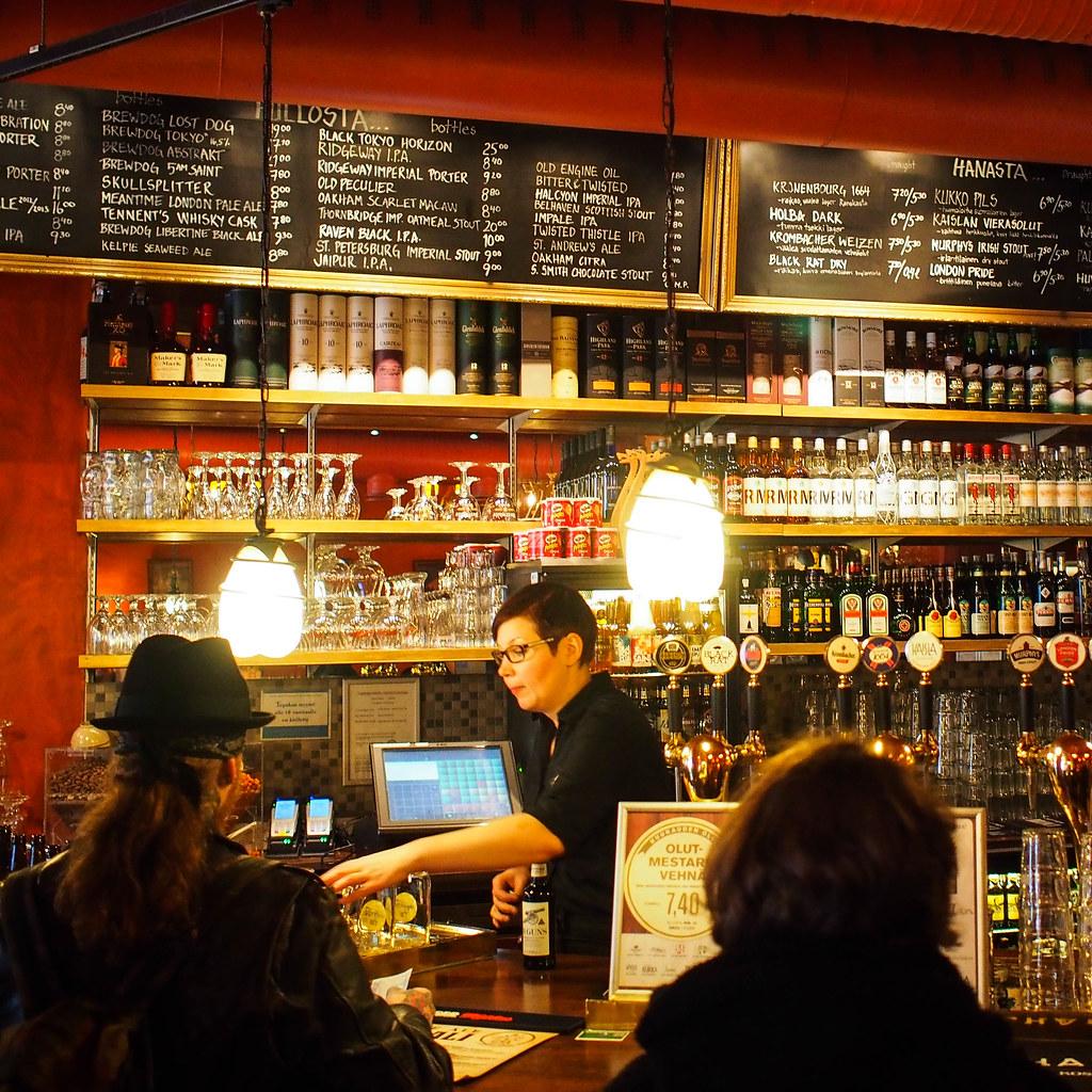 Helsinki bar Oluthuone Kaisla