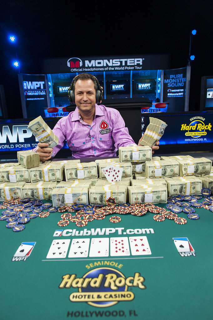 WPT SHR Poker Showdown Champion Eric Afriat_WPT Seminole HR Poker Showdown_Giron_7JG2920