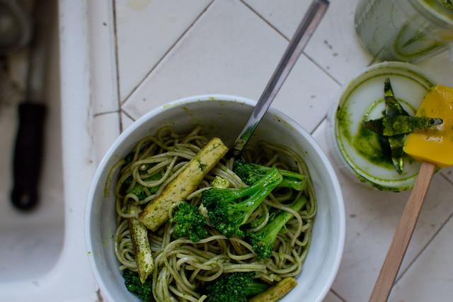 cilantro noodle bowl