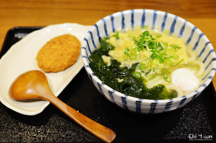 [台北]信義誠品稻禾烏龍麵,傳統製麵,香酥炸物