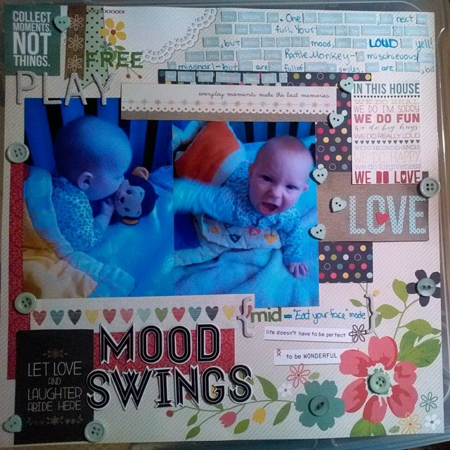 LOAD 514 - Scrapbooking layout on Toddler Mood Swings