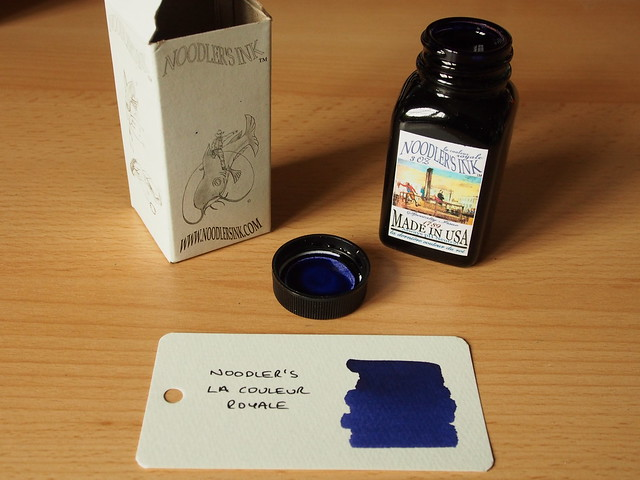 Noodler's La Couleur Royale - Ink Review