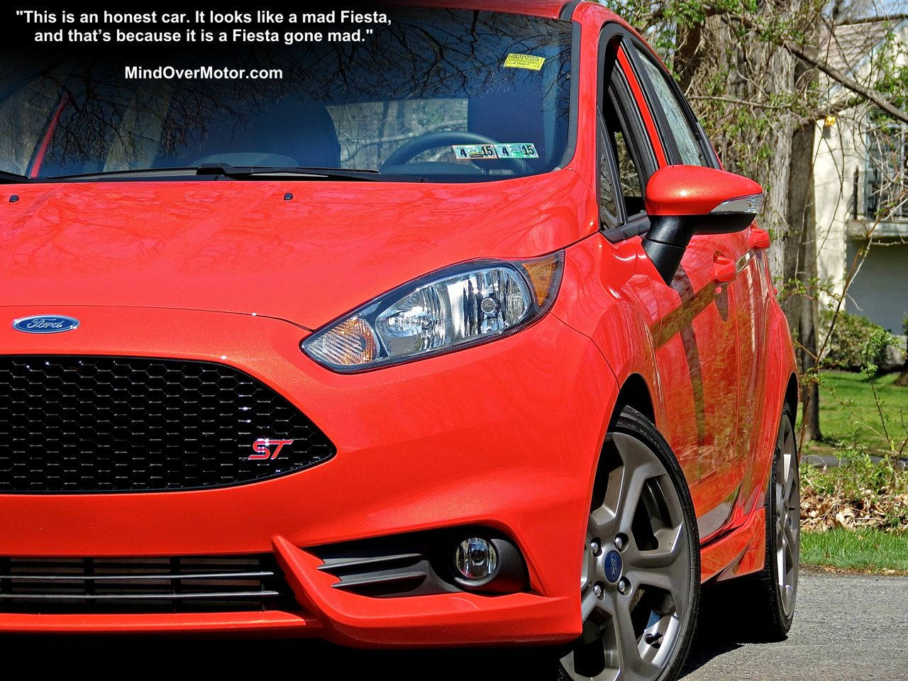Ford Fiesta ST in Molten Orange