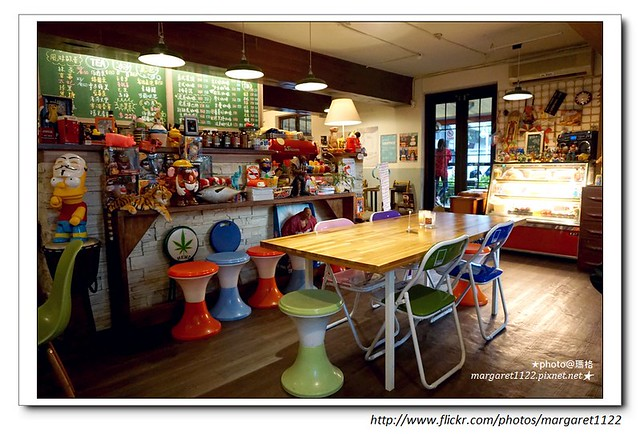 【台北】民生社區。虎屋咖啡