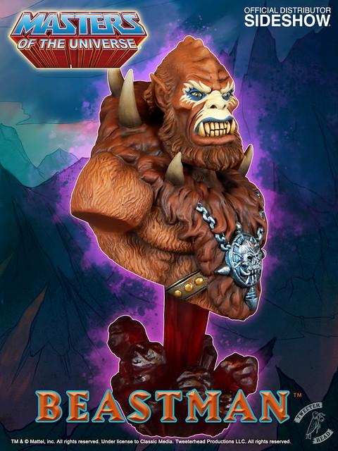 Tweeterhead【獸人】Beast-Man 1/4 比例半身胸像作品