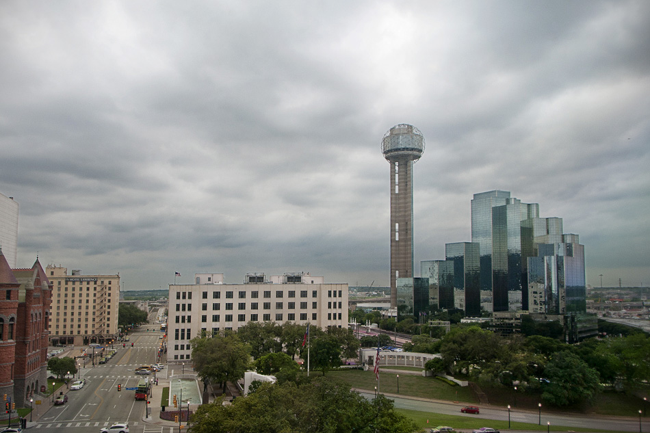 dallas from the 6th floor