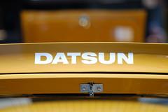 Yellow Datsun