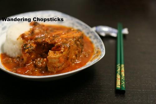 Ca Kho Sot Ca Chua Thi La (Vietnamese Braised Fish with Tomato Dill Sauce) 1