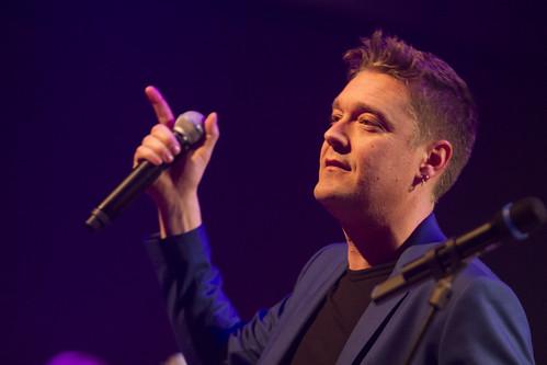 Bjorn Boerdam tijdens de Top2000 van Roosendaal