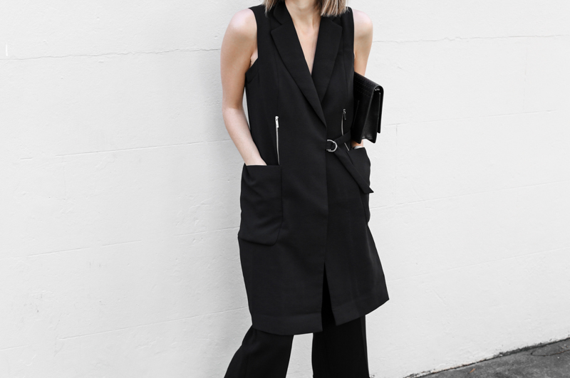 modern legacy, fashion blog, all black street style, work wear inspo, Karen Millen (1 of 1)