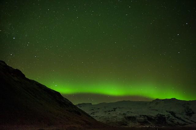 Islande, aurore boréale, 2