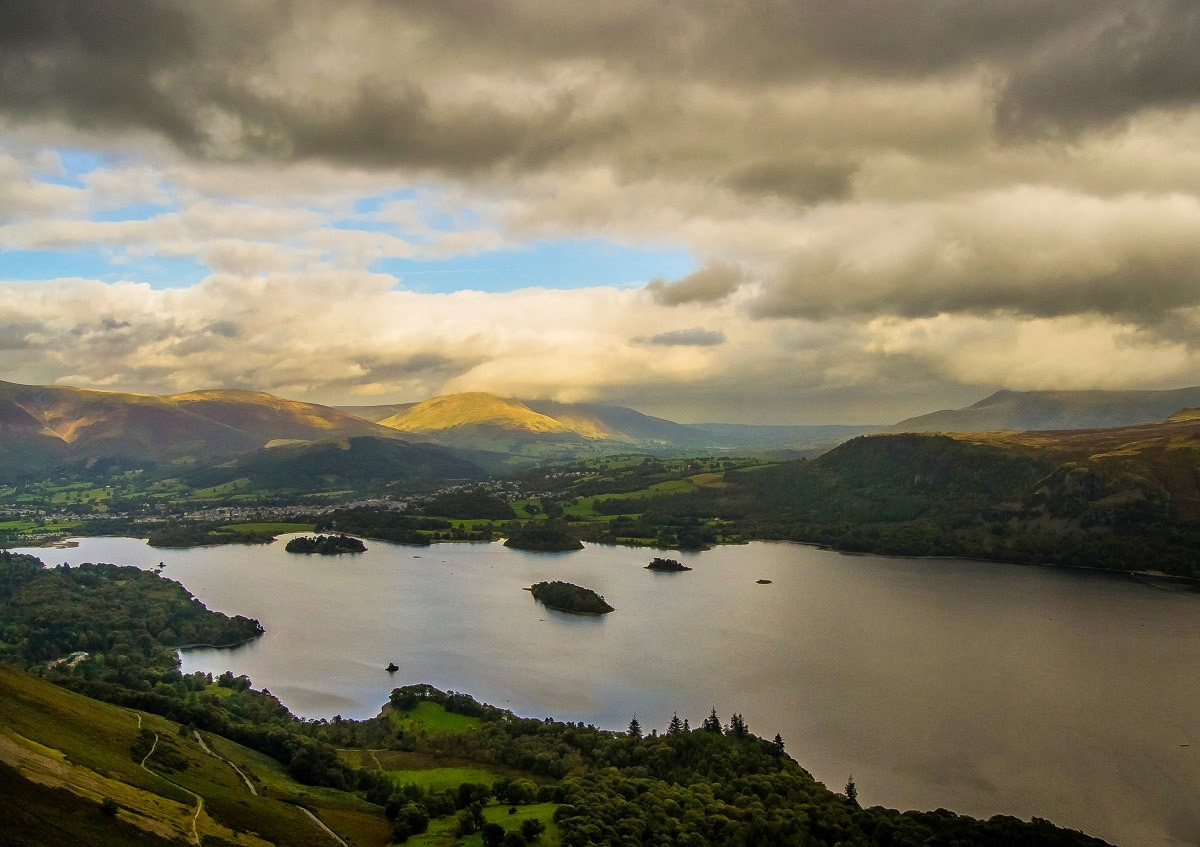Derwent Water, Lake District. Credit Andy Rothwell, flickr