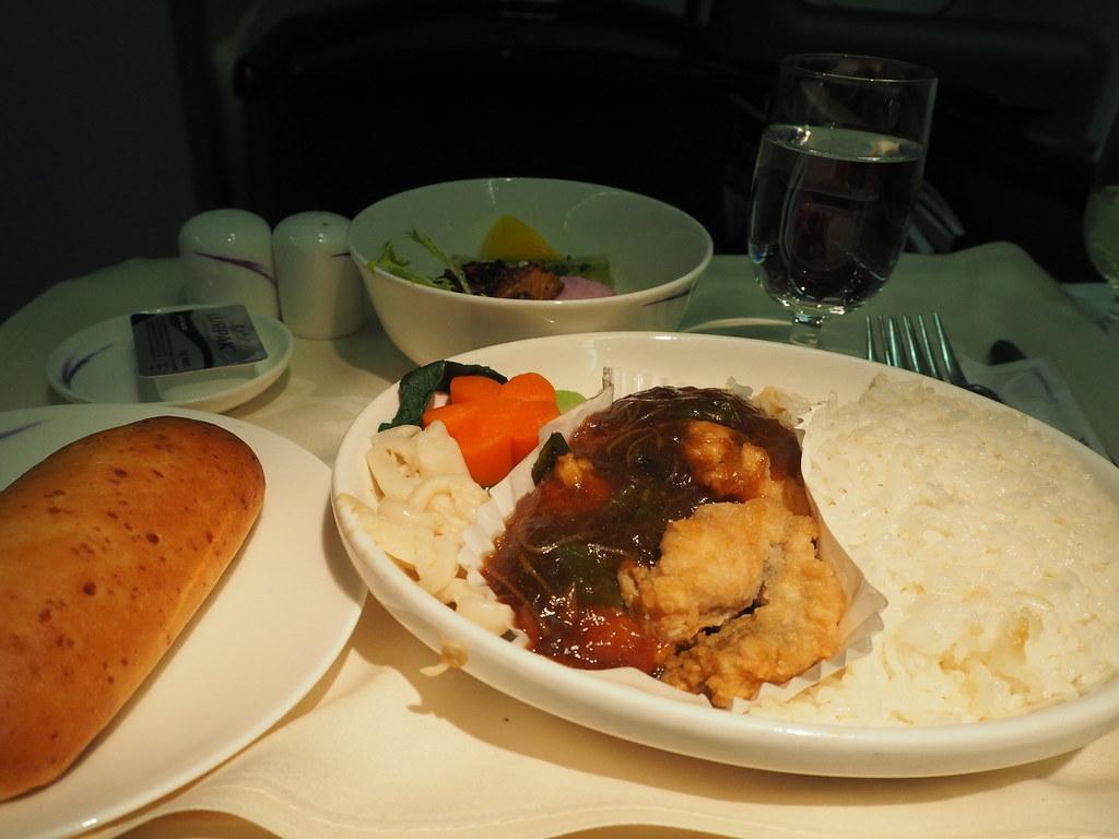チャイナエア機内食