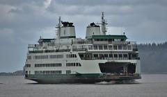 M/V Tokitae Crossing Posession Sound En-Route to Mukilteo --- Washington State Ferries