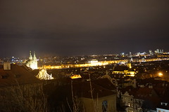 Night View From Hradčanské nám, Prague