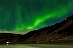 Northern Lights in Vik, Reykjavik