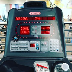 I AM BUSY BEING STRONGER , 30 min the cardio and lift weight for more 30 min strength  and done for today  at LA Fitness thanks @lcdance82  for motivate me . I WILL WHAT I WANT !!! #iamcavalcanti #sonsofcavalcantidallas #iambusybeingstronger