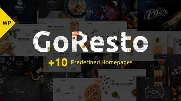 GoResto WordPress Theme free download