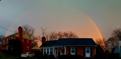 Rainbow after the storms