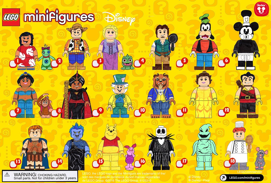 Disney CMF Series 2 Checklist
