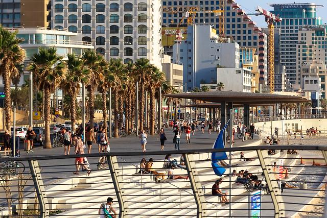 Embankment of Tel Aviv