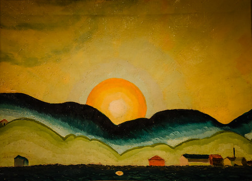 princeton newjersey unitedstates us arthur dove sunrise northport harbor 1929 art museum nj museo musée musee muzeum museu musum müze finearts fine arts gallery gallerie beauxarts beaux galleria painting new jersey american landscape paysage