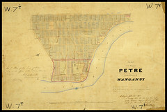 Plan of the Town of Petre, 1850