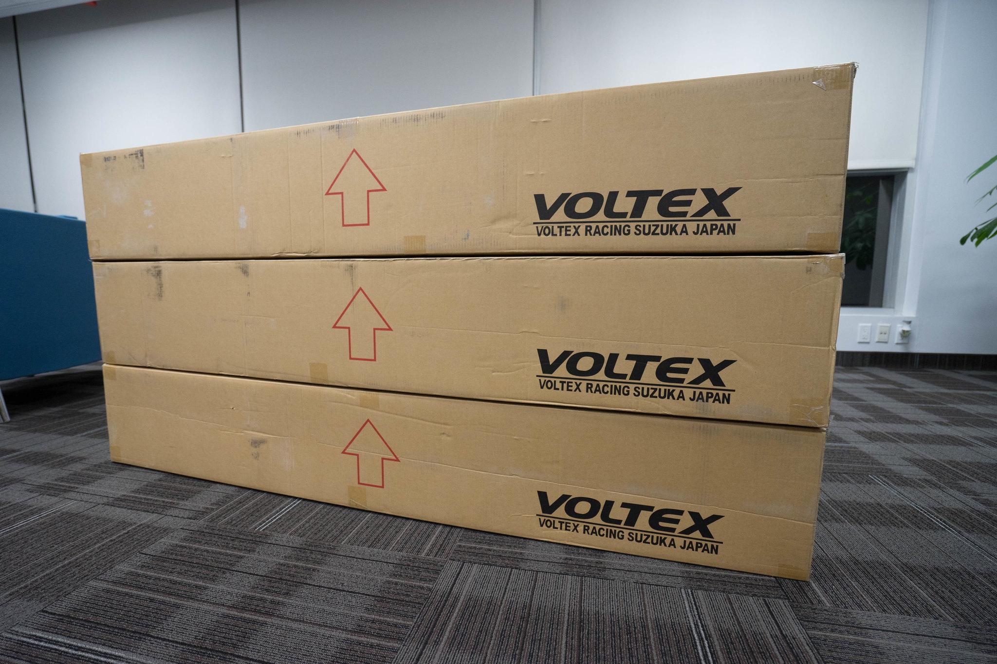 Voltex Aero IN STOCK Type  Swan Neck  Type  Scion FRS - Us zip code full
